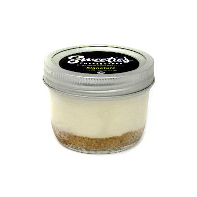 "Sweetie's Cheesecakes 3"" Jar - Signature Cheesecake"