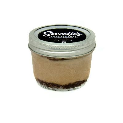 "Sweetie's Cheesecakes 3"" Jar - Chocolate Cheesecake"