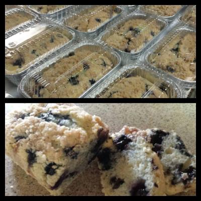 Blueberry Coffee Cakes