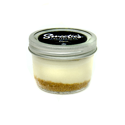 "Sweetie's Cheesecakes 3"" Jar - Plain Cheesecake"