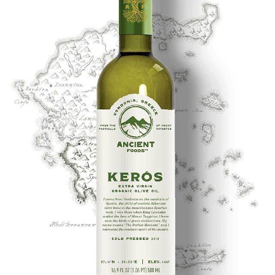Keros Greek Organic Extra Virgin Olive Oil