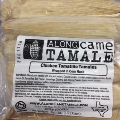 Frozen Tamales