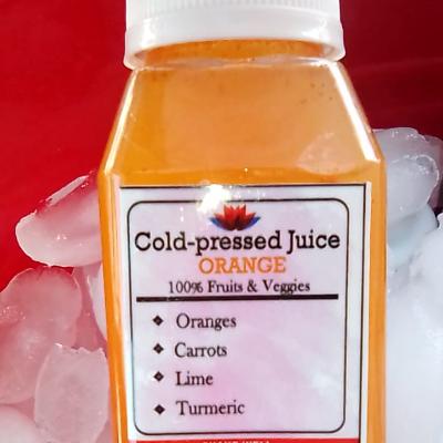 Orange Cold-Pressed Juice