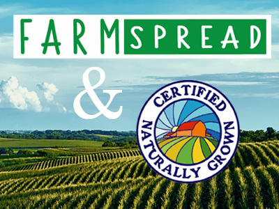 Farmspread Partners with Certified Naturally Grown